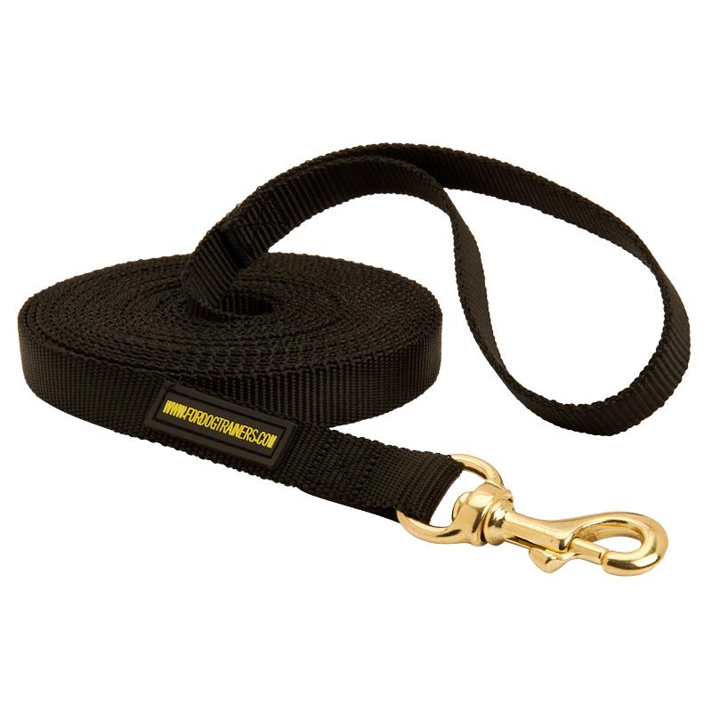 Laisse chien longue en nylon pour la formation - Laisse pour chien pas cher ...